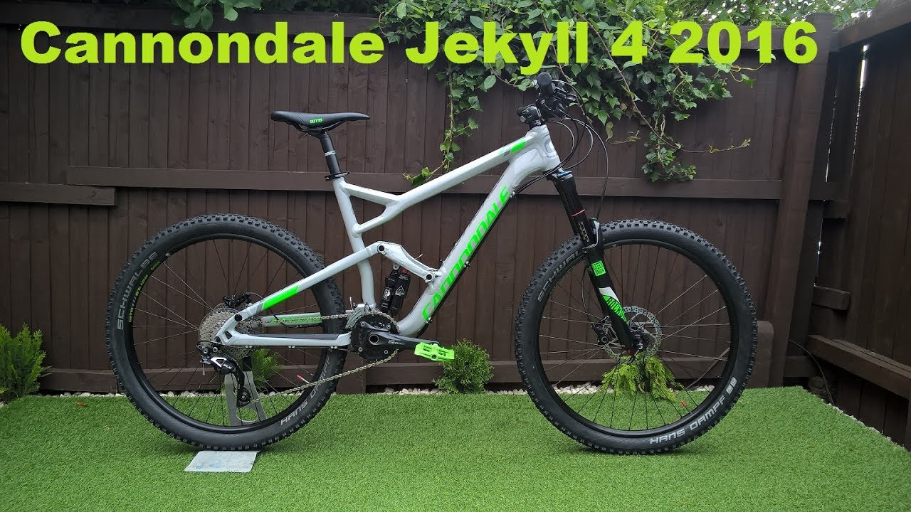Cannondale Jekyll 4 2016 Full Suspension Mtb Mountain Bike Youtube