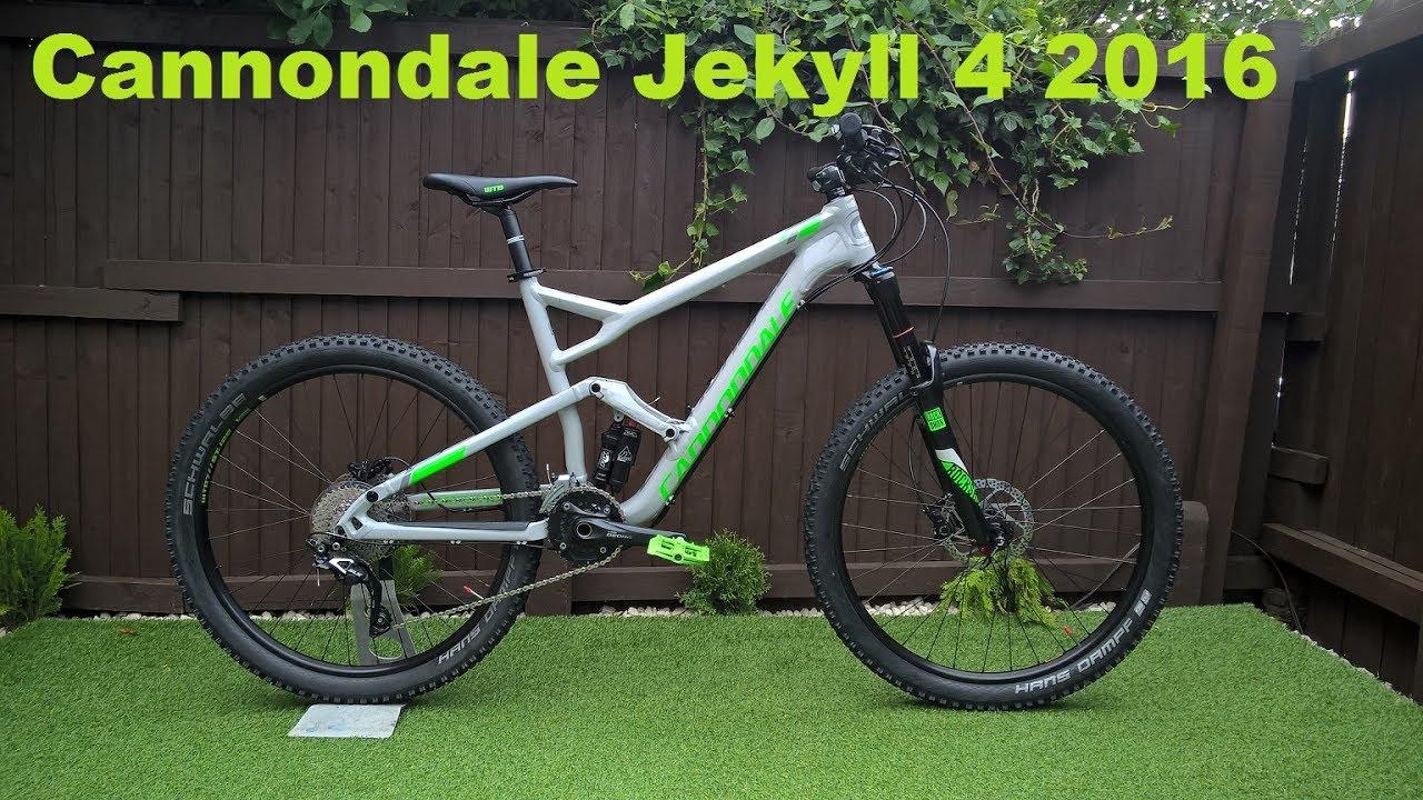 Cannondale Jekyll 4 2016 Full Suspension Mtb Mountain Bike Youtube