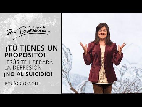 ¡Tú tienes propósito! Jesús te liberará de la depresión ¡NO al suicidio! | Rocío Corson - P. Cortas