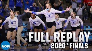 Kentucky vs. Texas: 2020* NCAA volleyball national championship | FULL REPLAY