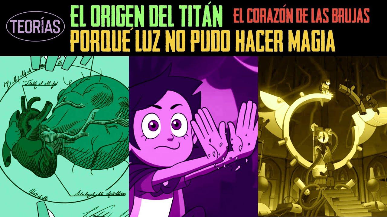 PORQUÉ LUZ NO PUDO HACER MAGIA EN LA TIERRA || EL EMPERADOR BELOS Y EL TITÁN - The Owl House