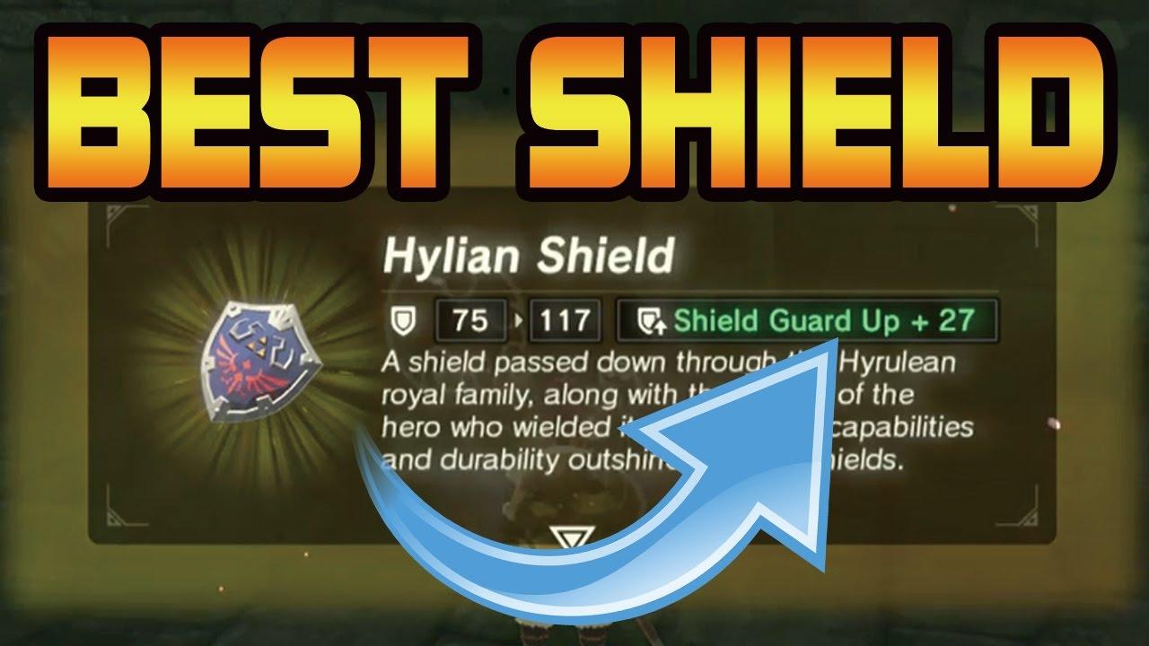 Zelda: Breath of the Wild - BEST SHIELD EVER (Hylian Shield +27!!!)
