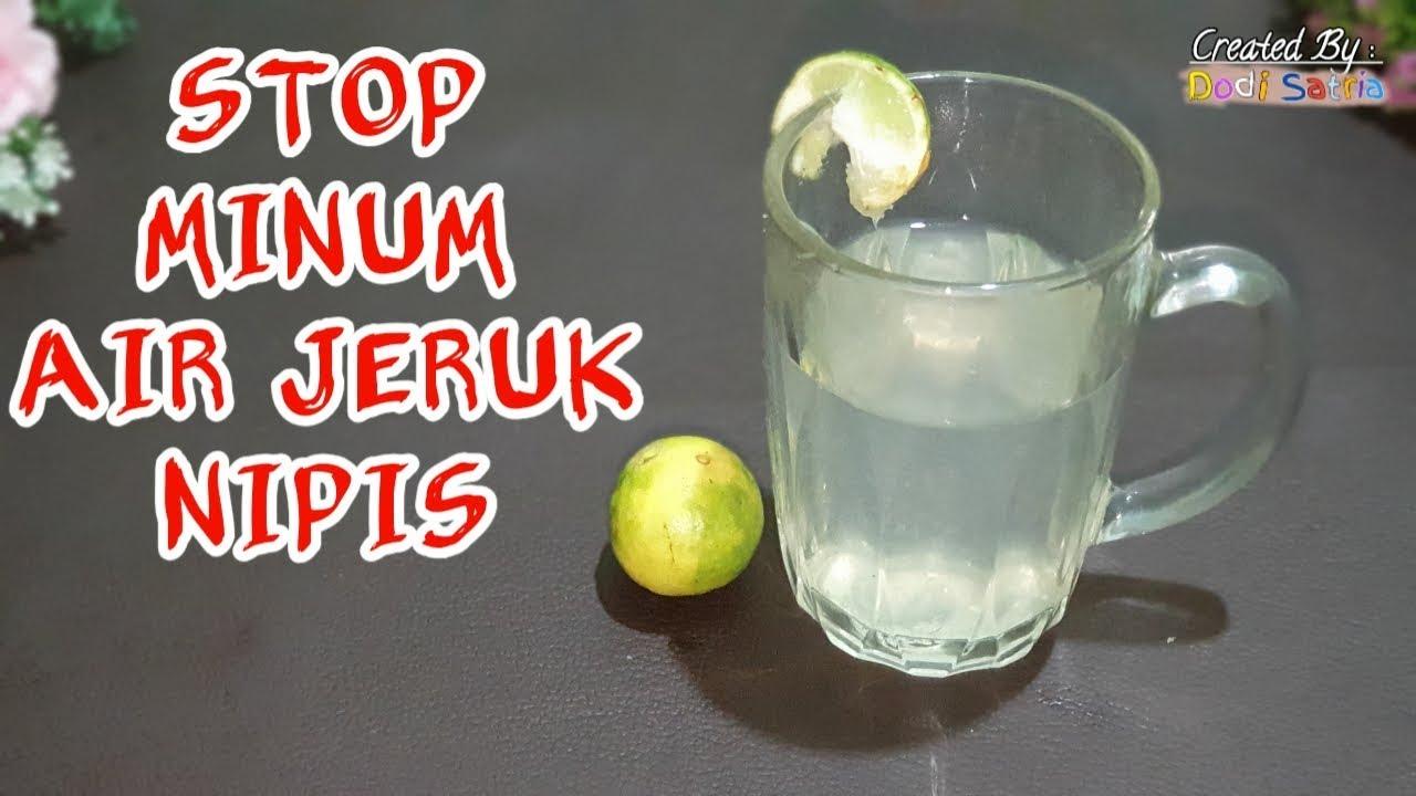 7 Bahaya Minum Air Perasan Jeruk Nipis Lemon Secara Langsung Youtube