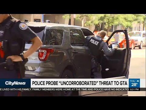 Toronto police probe 'uncorroborated' threat