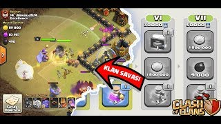 KLAN OYUNLARI VS KLAN SAVAŞI !( fail olduk) | Clash Of Clans