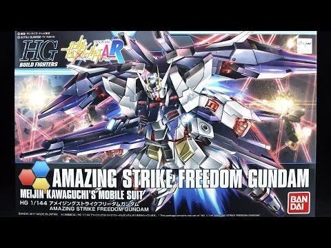 1104 - HGBF Amazing Strike Freedom Gundam UNBOXING