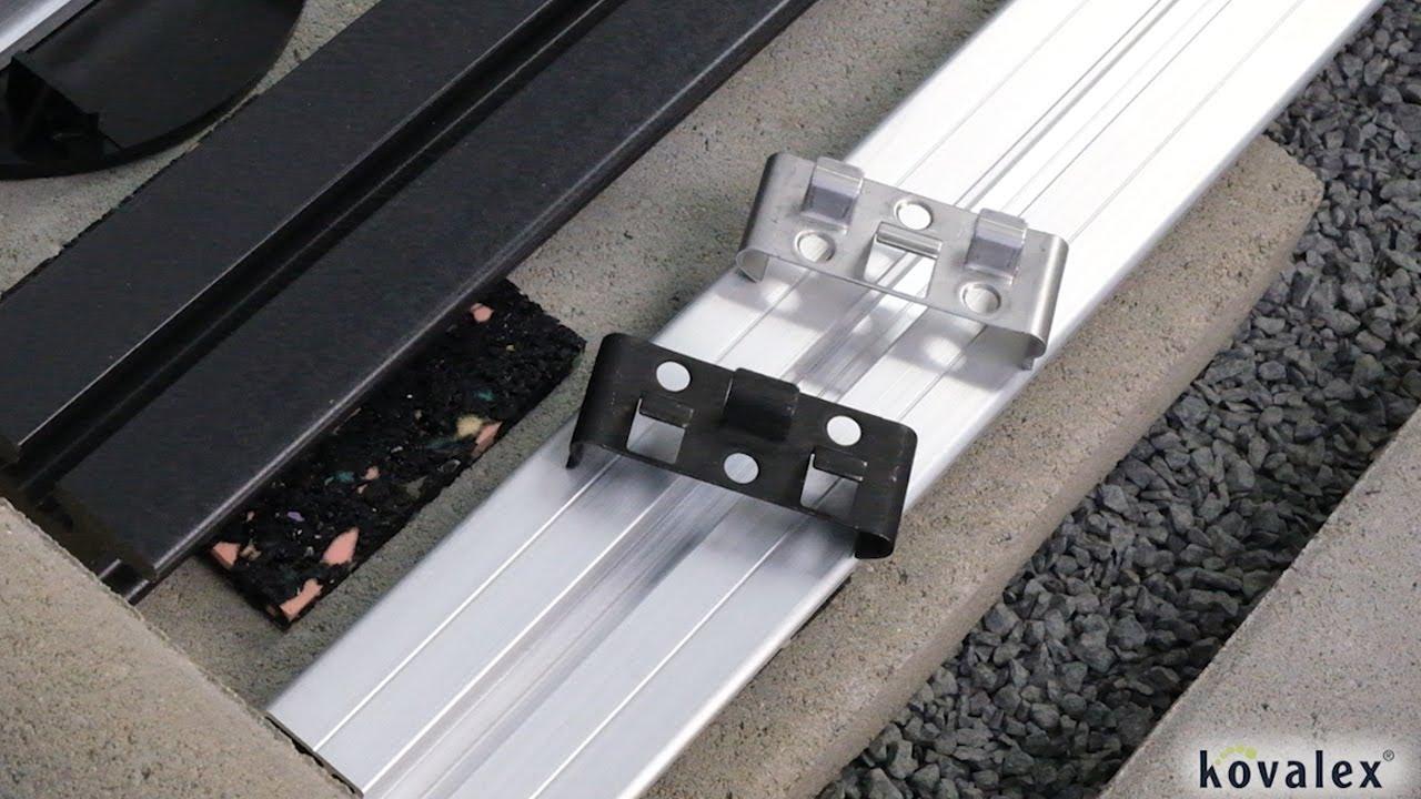 Kovalex Montageclip Metall Geeignet für WPC Terrassendielen, 20 ...