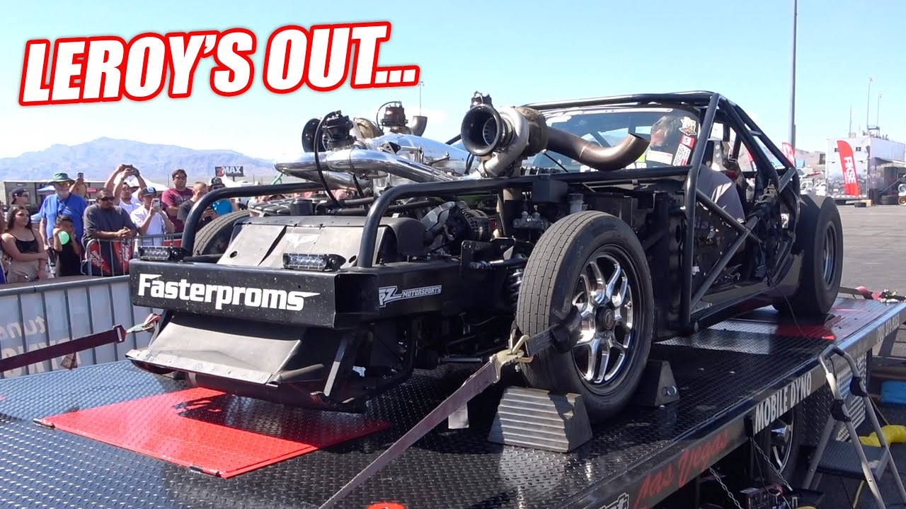 LS Fest LAS VEGAS Day 2: Leroy Releases all the BALD EAGLES on the Dyno!