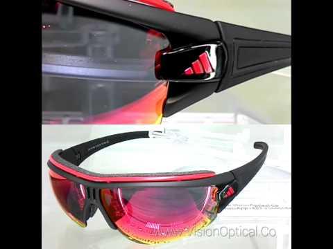 adidas evil eye halfrim pro l mirror lenses youtube. Black Bedroom Furniture Sets. Home Design Ideas