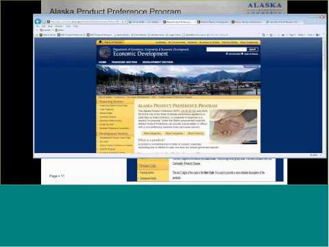 AKSourceLink Webinar - Business Resources from the State of Alaska
