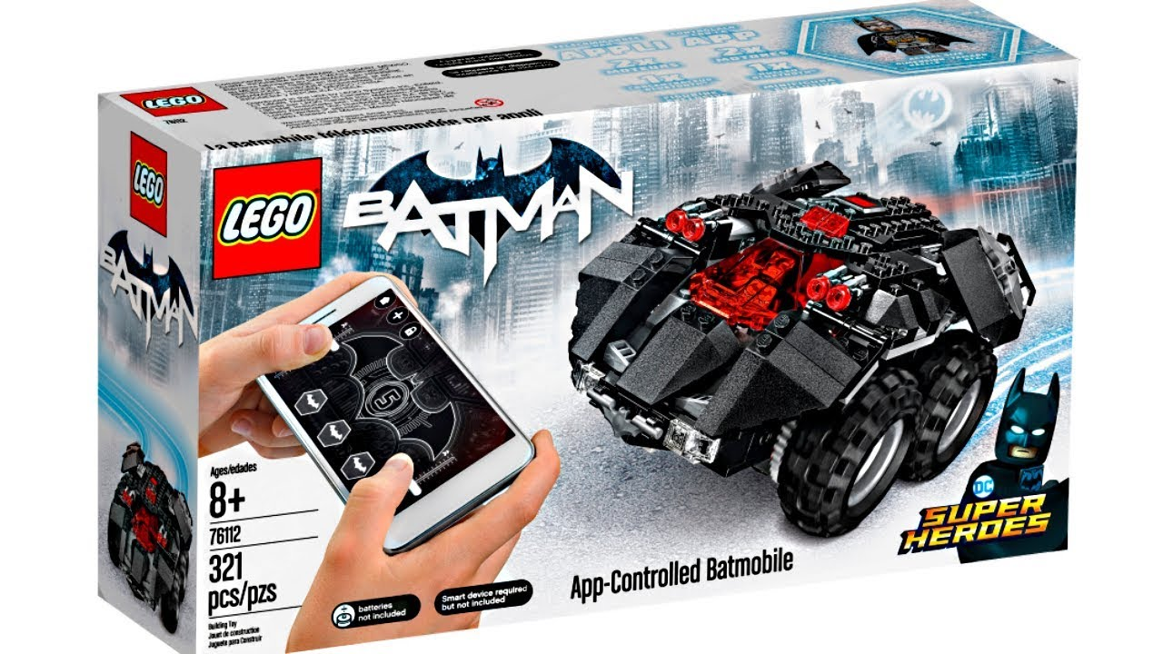 lego batman 2018 summer app controlled batmobile set. Black Bedroom Furniture Sets. Home Design Ideas