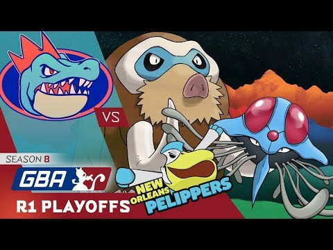 Pokemon GBA S8 R1 Playoffs Wi-Fi Battle: Florida Gatrs vs New Orleans Pelippers