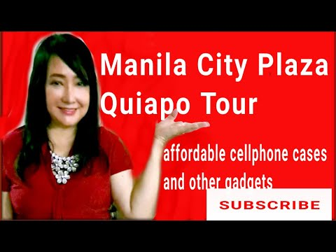 QUIAPO TOUR MANILA CITY PLAZA/ affordable cellphone cases and gadgets