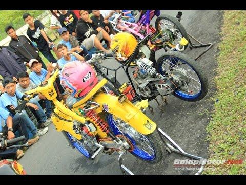 Kontes Motor Drag Bike Youtube