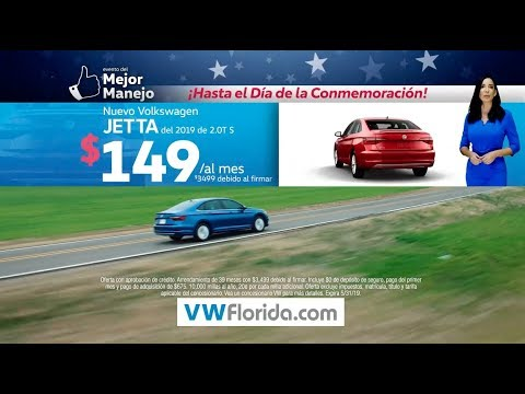 Volkswagen South Florida - The Better Drive Memorial Day - Jetta - Spanish