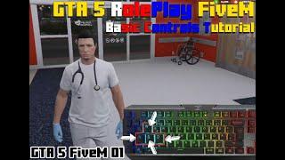 Basic Controls for GTA 5 RP FiveM | For Beginners