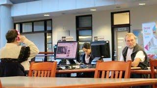 Sex Noises in A Library Public Prank