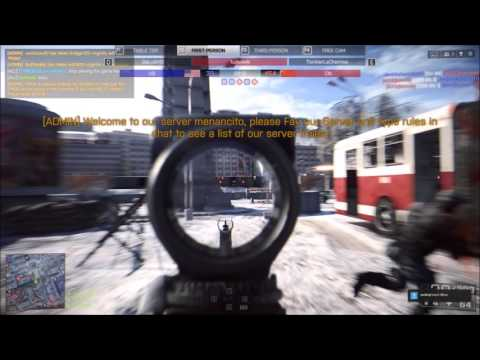 "BF4 hacker ""turbowik"" caught - aimbotting away like a pro in a public server"