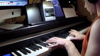 Oblivion - M83 feat Susanne Sundfør (Piano/Synthé cover)
