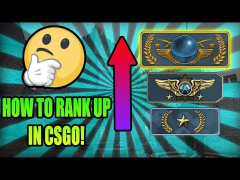 HOW TO RANK UP IN CSGO! (CSGO RANKING SYSTEM EXPLAINED)
