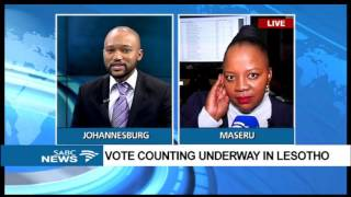 Latest update on Lesotho vote counting