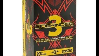 Castle Sidewinder 3 Combo Unboxing