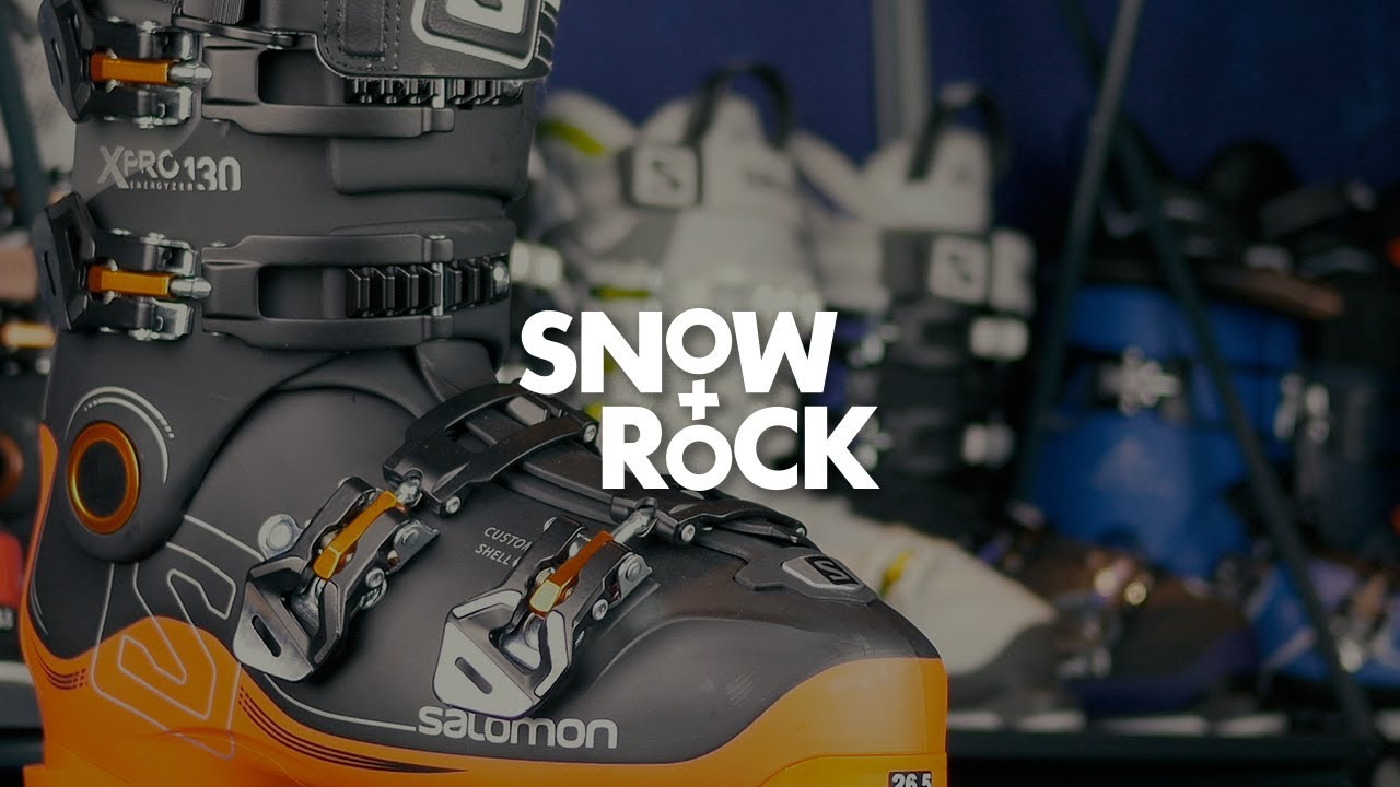 Salomon X Pro 130 2018 Ski Boot Overview by Snow+Rock