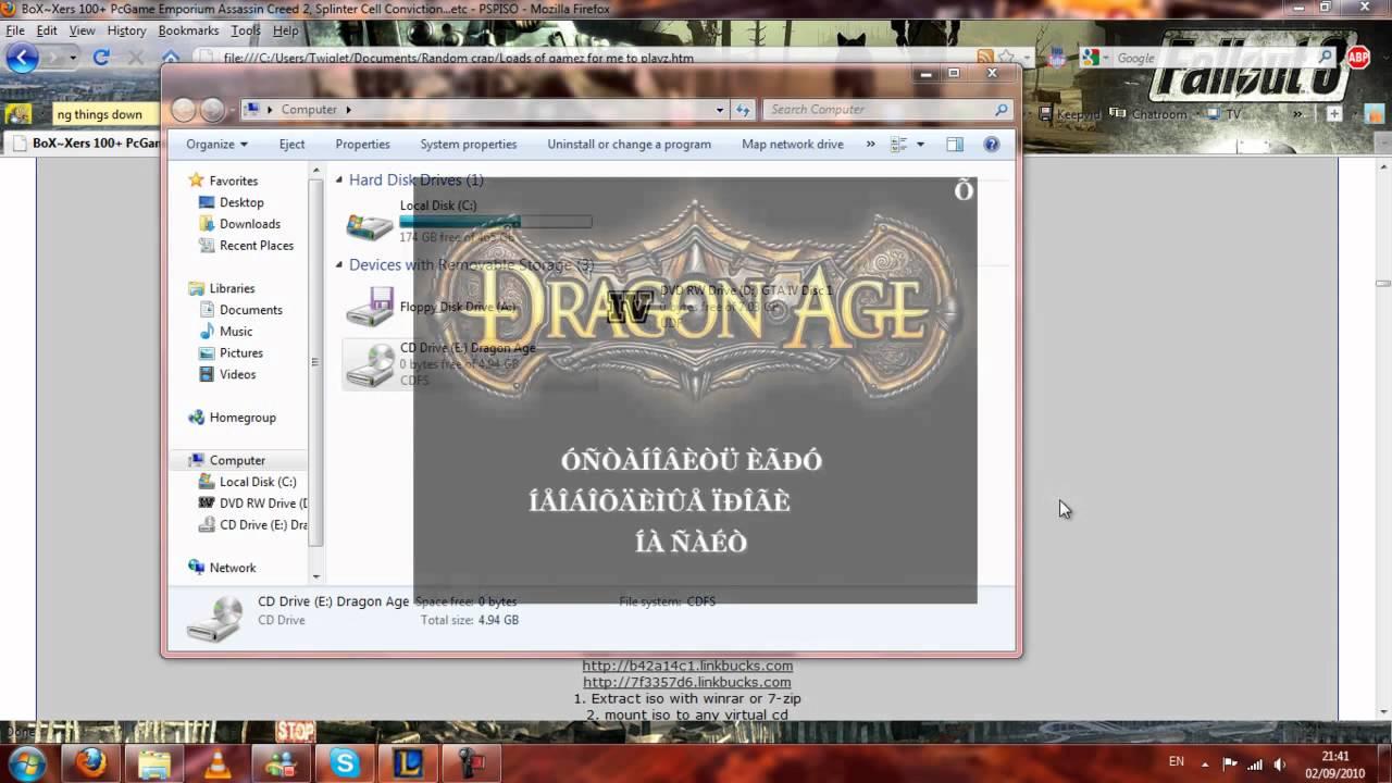 dragon age origins download torrent