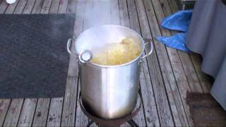 Our Fifth Deep Fried Turkey...The Only Way To Go!