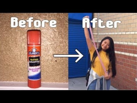 How to make slime with elmers clear glue stick