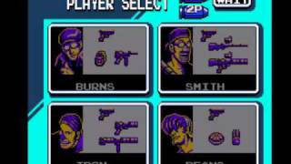Contra Force - Character Select  remake by soroxas (Oldie but new wave)