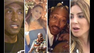 Larsa Pippen & Future Attend Meek's Birthday Dinner! + Young Dolph Kicks It With OG's + Famous Dex W