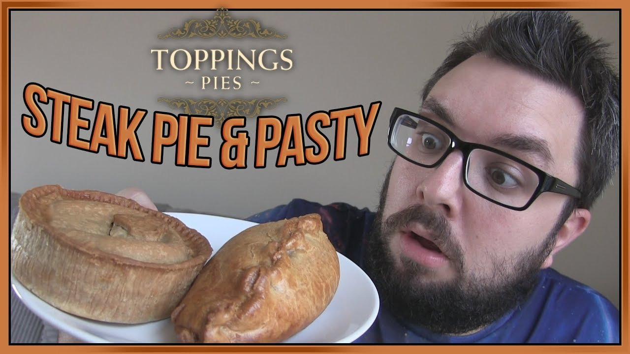Toppings Pies Cornish Pasty & Steak Pie Reviews - YouTube