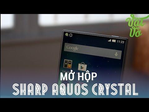 [Review dạo] Mở hộp & đánh giá nhanh Sharp Aquos Crystal: smartphone không viền màn hình