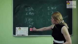 Уроки немецкого языка с Анжеликой Волончук Неопределёноо-личное местоимение  MAN.
