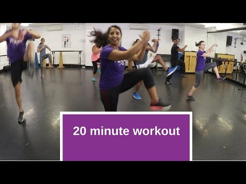 20 minute, follow along bhangra workout