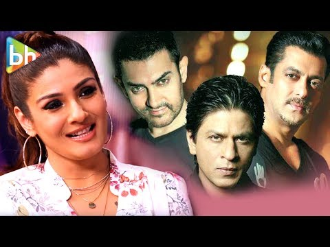 Raveena Tandon's EXCLUSIVE Khan Quiz | Shah Rukh Khan | Salman Khan | Aamir Khan