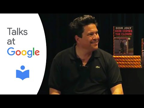 """Dom Joly: """"Here Comes The Clown: A Stumble Through Show Business""""   Authors at Google"""