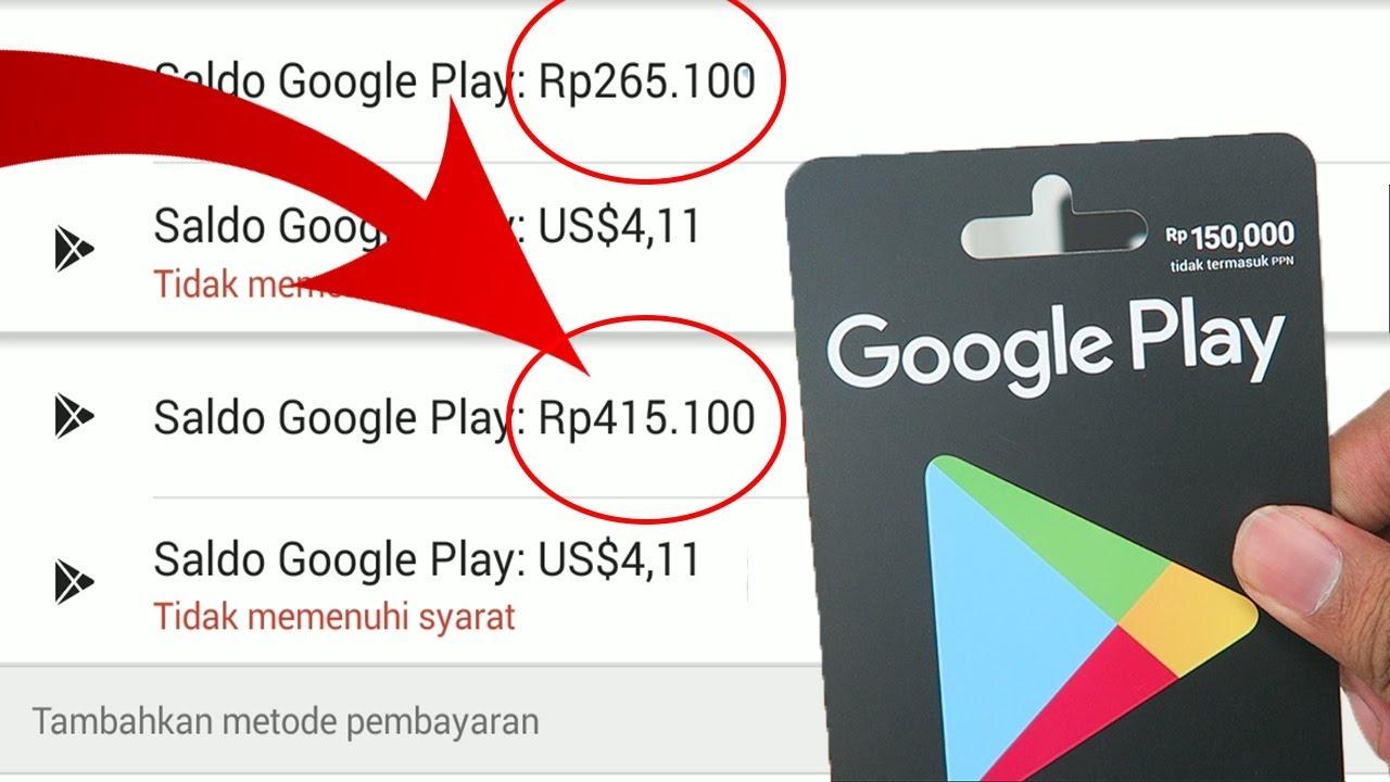 Lihat Cara Membeli Google Play mudah