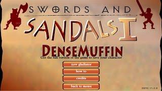 Flash Games - Swords and Sandals: Gladiator
