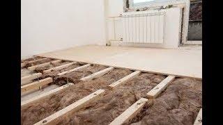 як краще зробити підлоги в дерев'яному будинку