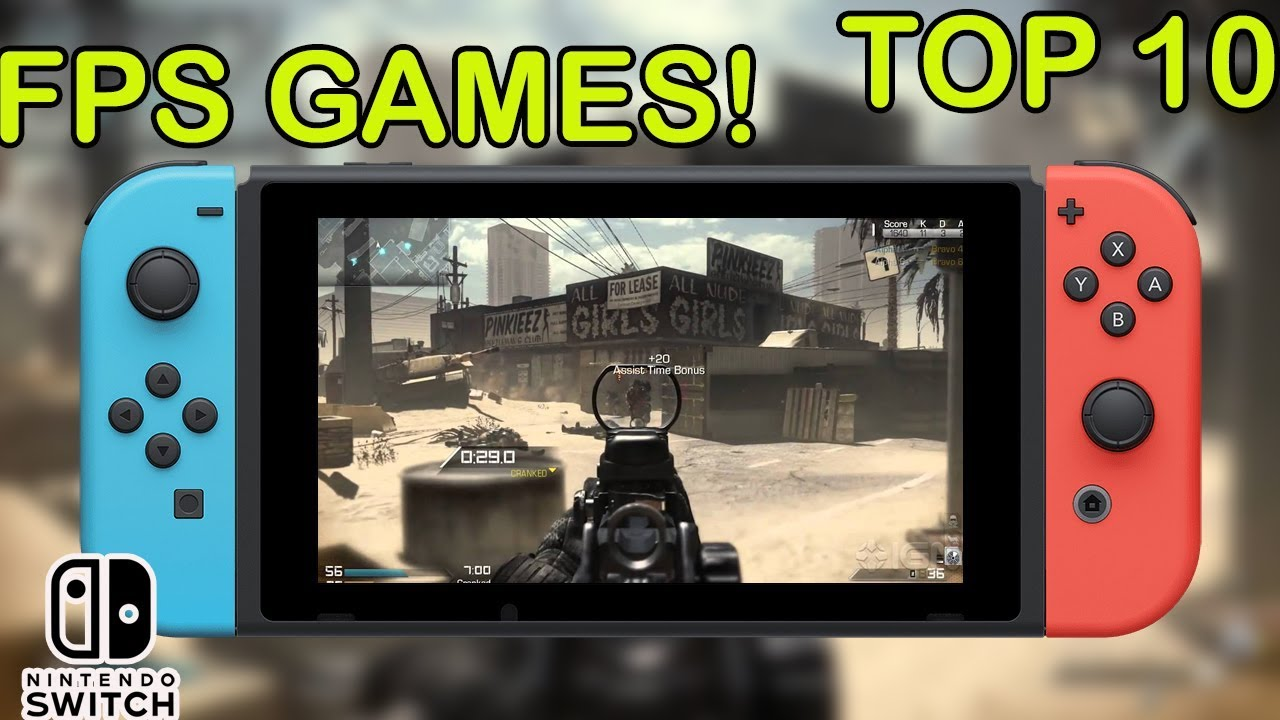 Top 10 High Graphics Fps Games For Nintendo Switch Youtube