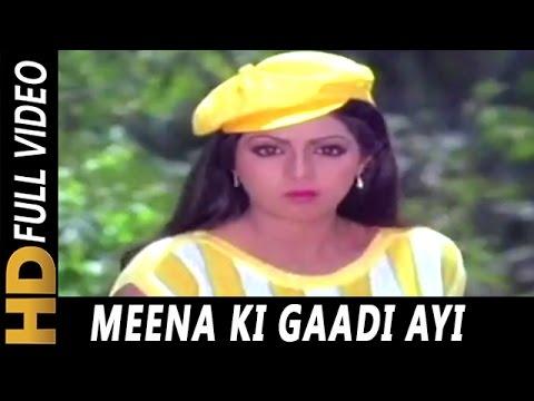Meena Ki Gaadi Ayi | Asha Bhosle | Sone Pe Suhaaga 1988 Songs | Sridevi, Jeetendra