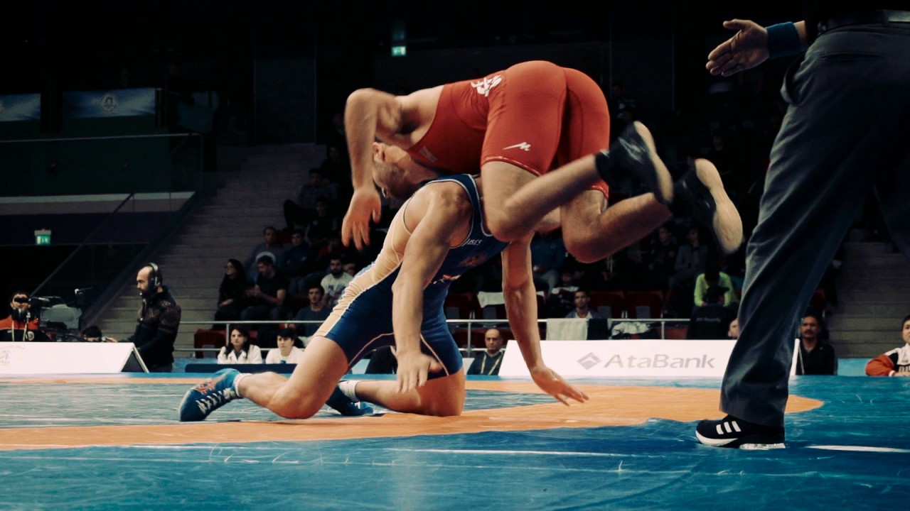 Watch The Most Beautiful SlowMotion Videos from The Greco-Roman Wrestling  Day at #Baku2016 GGP