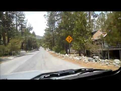 Wrightwood California. A drive through Wrightwood on a Sunday afternoon.