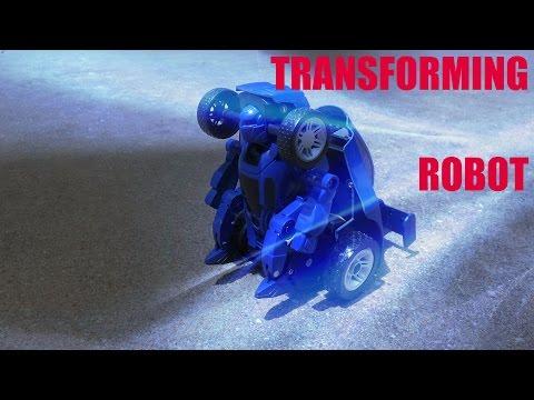 Sharper Image Transforming Robot RC Car Remote Control Demonstration