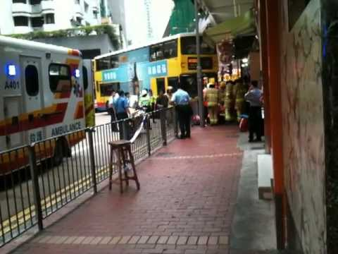 ACCIDENT in Causeway Bay Today 13-07-2012