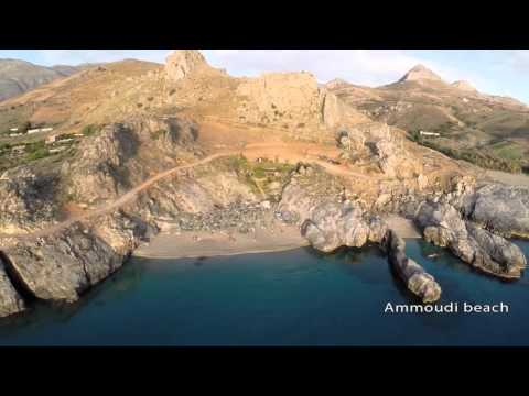 Plakias (Crete) Aerial Video by Drone