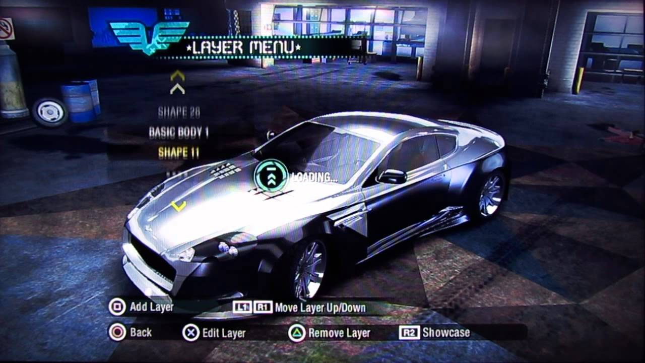 Need For Speed Carbon Wolf S Car Tutorial Youtube