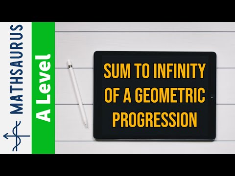 AS Maths - Sum to infinity of a GP (geometric progression)